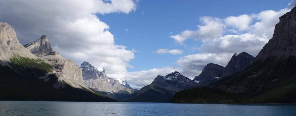 Lago Maligne, viajes a Canada oeste